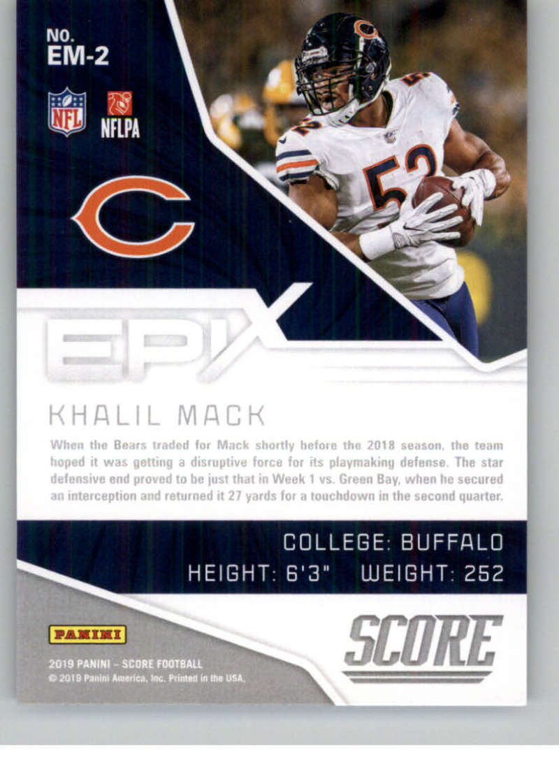 2019-Score-Purple-NFL-Football-INSERT-CARDS-Pick-From-List-All-Sets-Included thumbnail 57