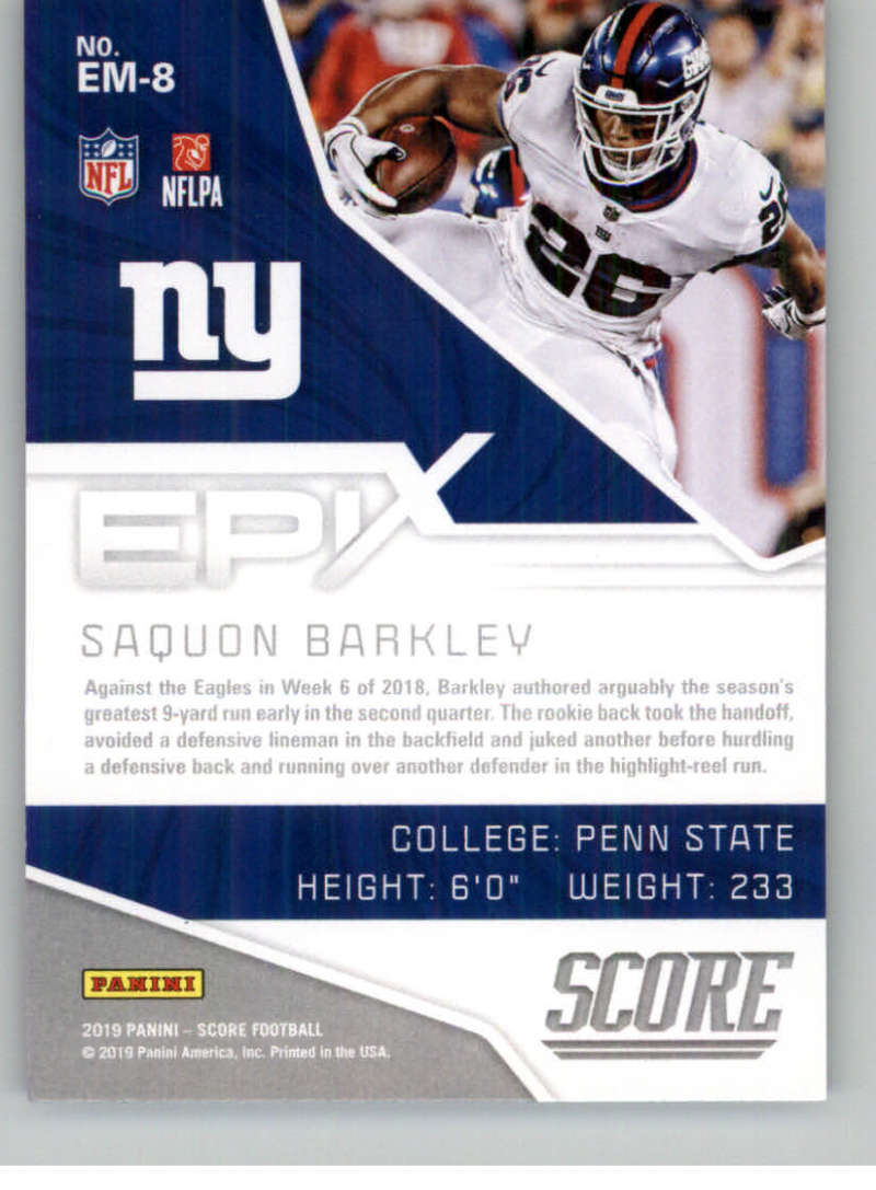 2019-Score-Purple-NFL-Football-INSERT-CARDS-Pick-From-List-All-Sets-Included thumbnail 61