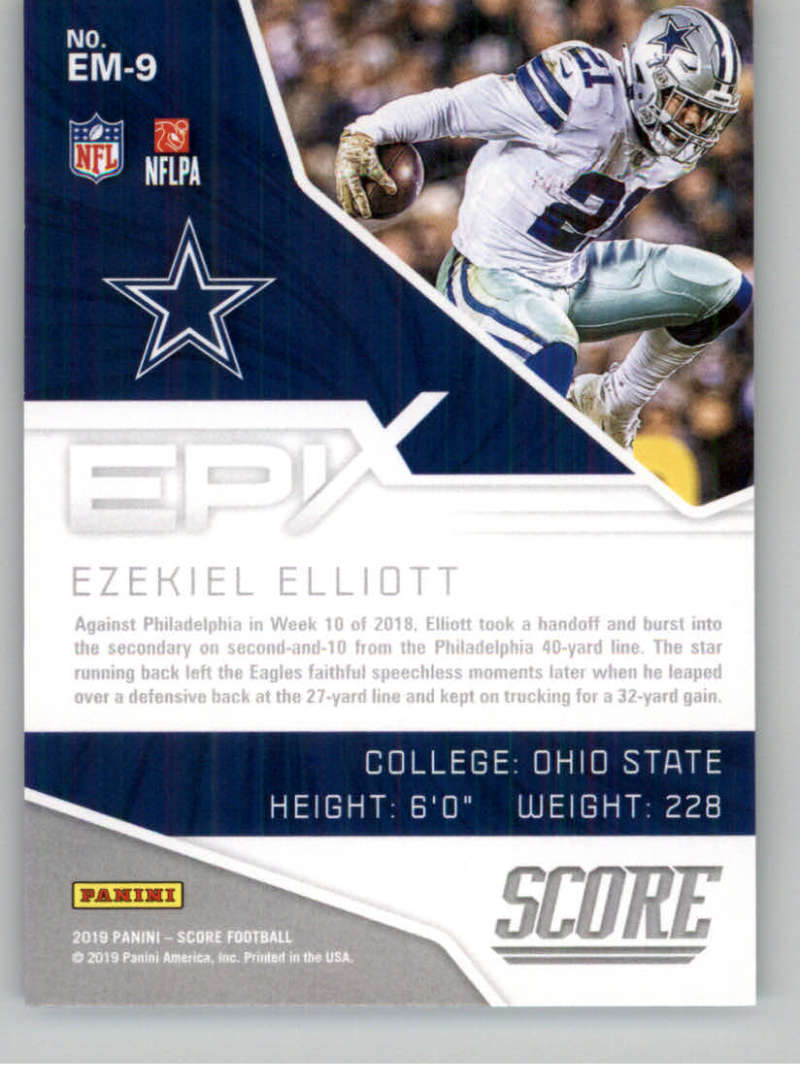 2019-Score-Purple-NFL-Football-INSERT-CARDS-Pick-From-List-All-Sets-Included thumbnail 63