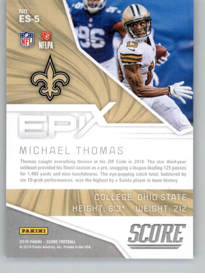 2019-Score-Purple-NFL-Football-INSERT-CARDS-Pick-From-List-All-Sets-Included thumbnail 65