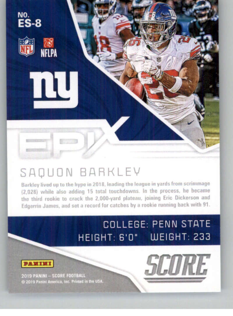 2019-Score-Purple-NFL-Football-INSERT-CARDS-Pick-From-List-All-Sets-Included thumbnail 67