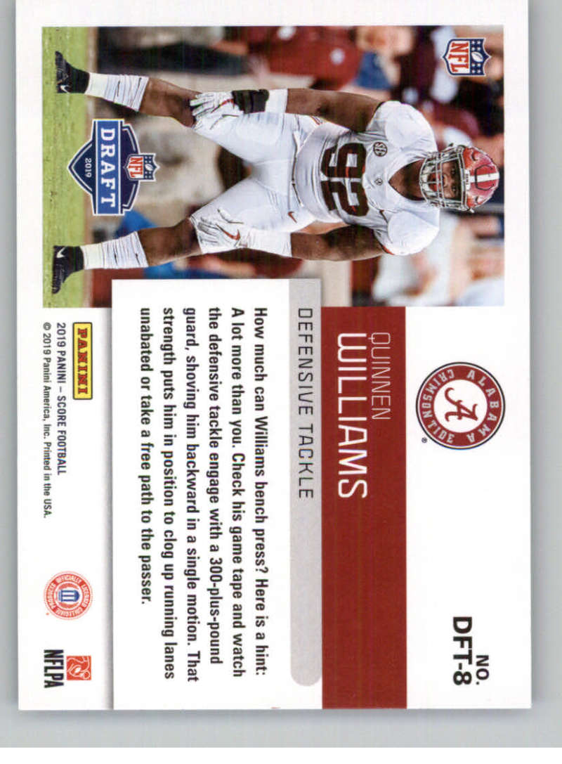 2019-Score-Purple-NFL-Football-INSERT-CARDS-Pick-From-List-All-Sets-Included thumbnail 95