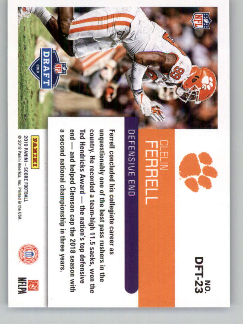 2019-Score-Purple-NFL-Football-INSERT-CARDS-Pick-From-List-All-Sets-Included thumbnail 109