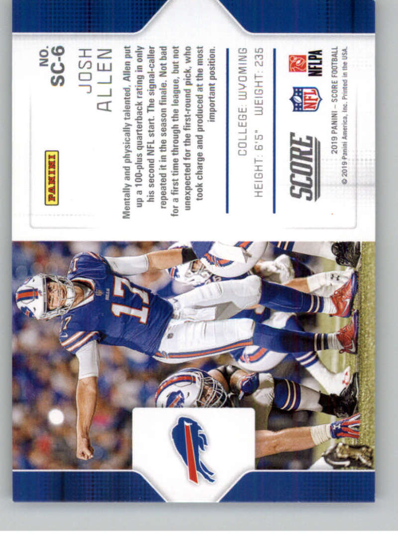2019-Score-Purple-NFL-Football-INSERT-CARDS-Pick-From-List-All-Sets-Included thumbnail 113