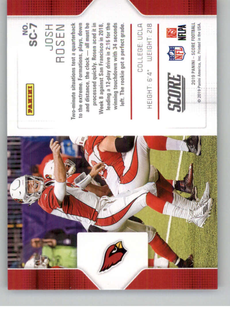 2019-Score-Purple-NFL-Football-INSERT-CARDS-Pick-From-List-All-Sets-Included thumbnail 115