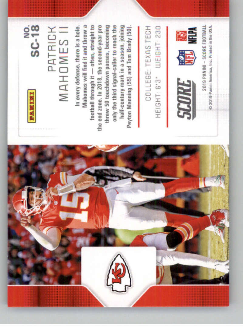 2019-Score-Purple-NFL-Football-INSERT-CARDS-Pick-From-List-All-Sets-Included thumbnail 117