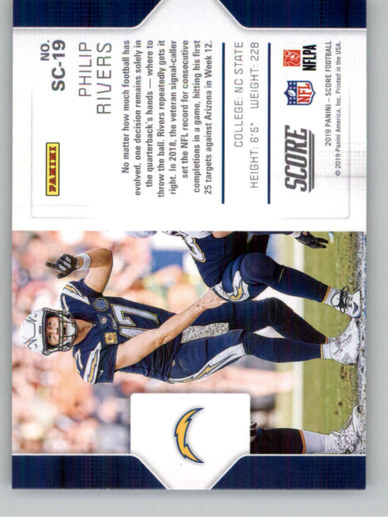 2019-Score-Purple-NFL-Football-INSERT-CARDS-Pick-From-List-All-Sets-Included thumbnail 119