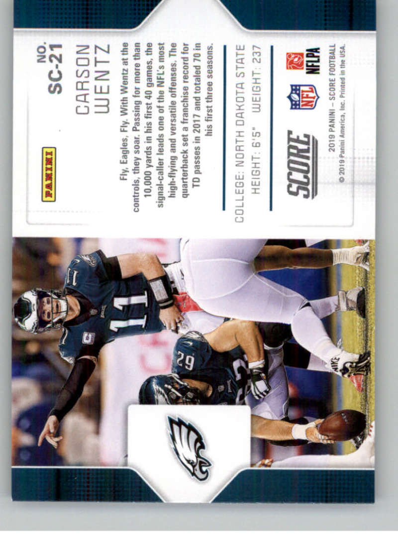 2019-Score-Purple-NFL-Football-INSERT-CARDS-Pick-From-List-All-Sets-Included thumbnail 121