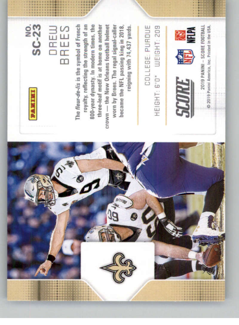 2019-Score-Purple-NFL-Football-INSERT-CARDS-Pick-From-List-All-Sets-Included thumbnail 123