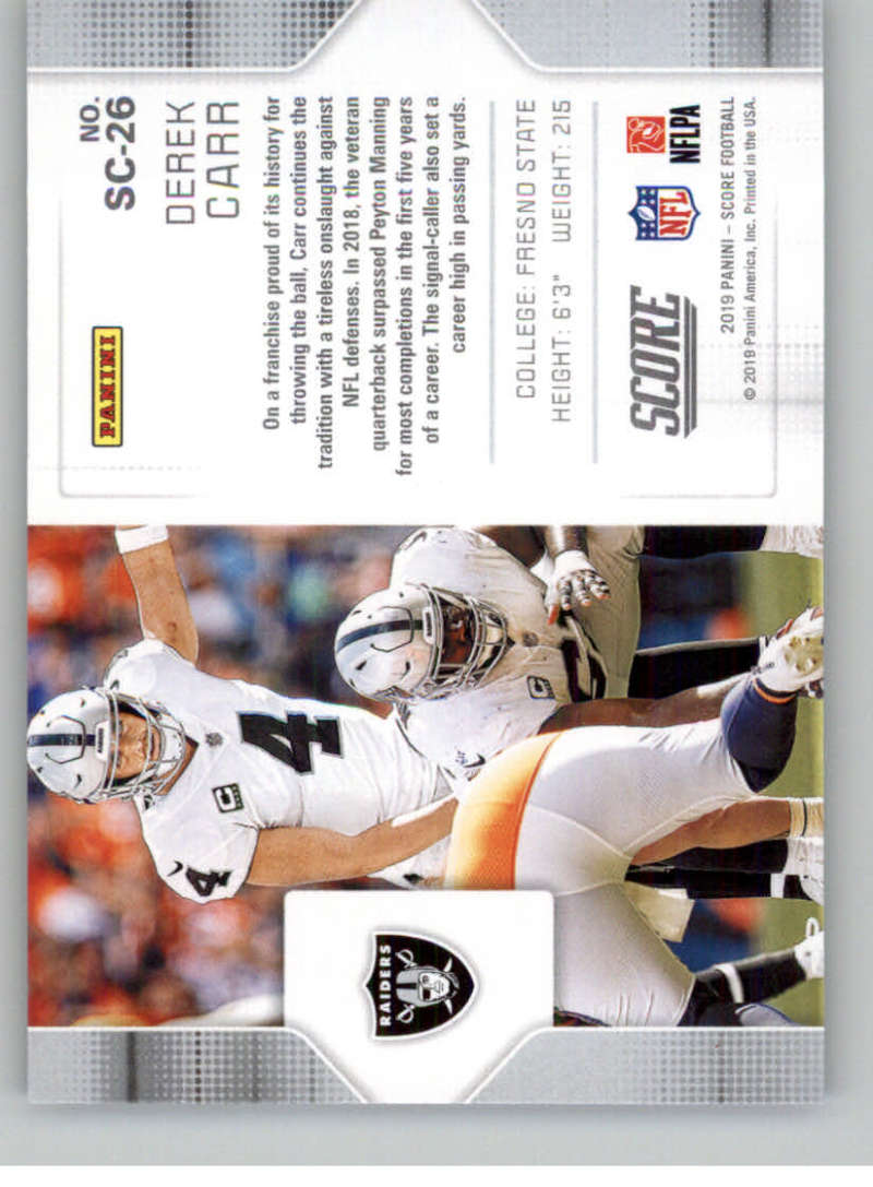 2019-Score-Purple-NFL-Football-INSERT-CARDS-Pick-From-List-All-Sets-Included thumbnail 127