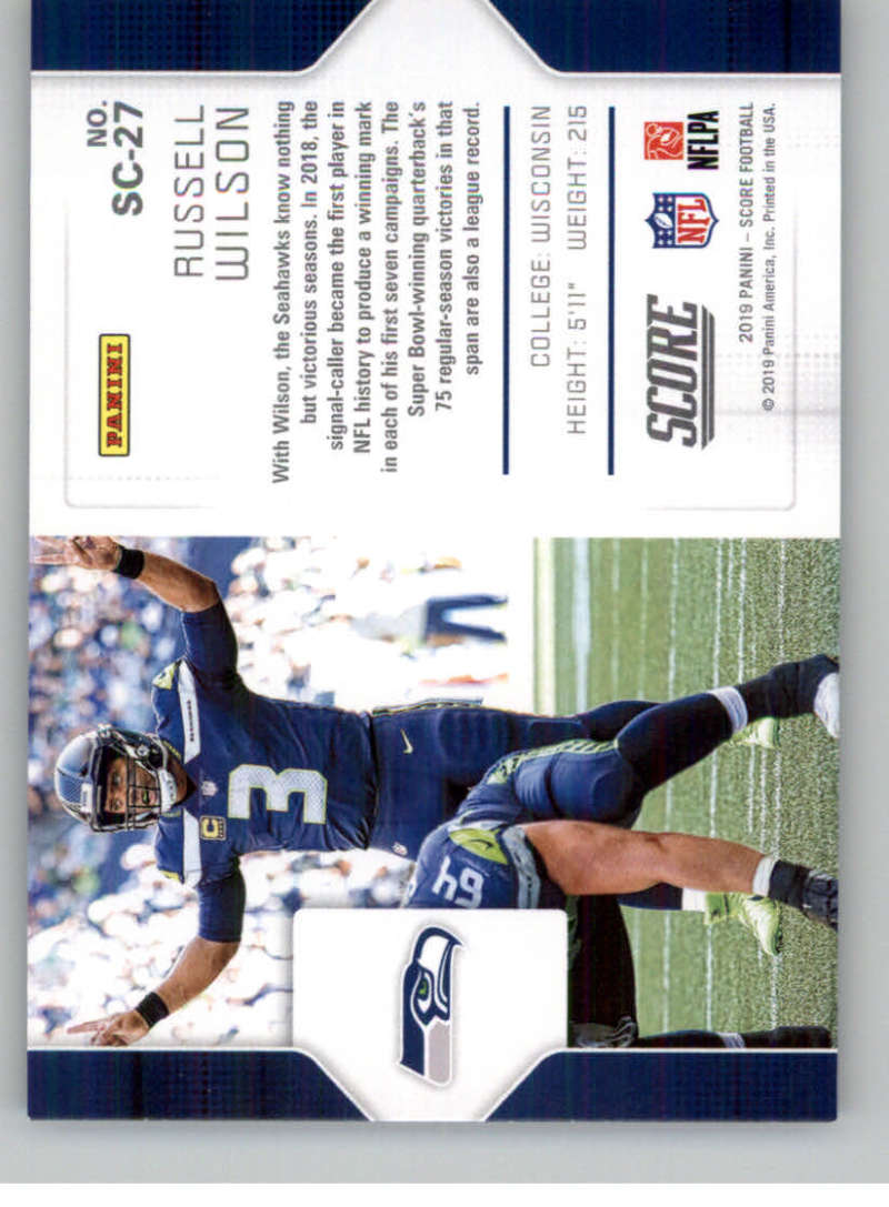 2019-Score-Purple-NFL-Football-INSERT-CARDS-Pick-From-List-All-Sets-Included thumbnail 129