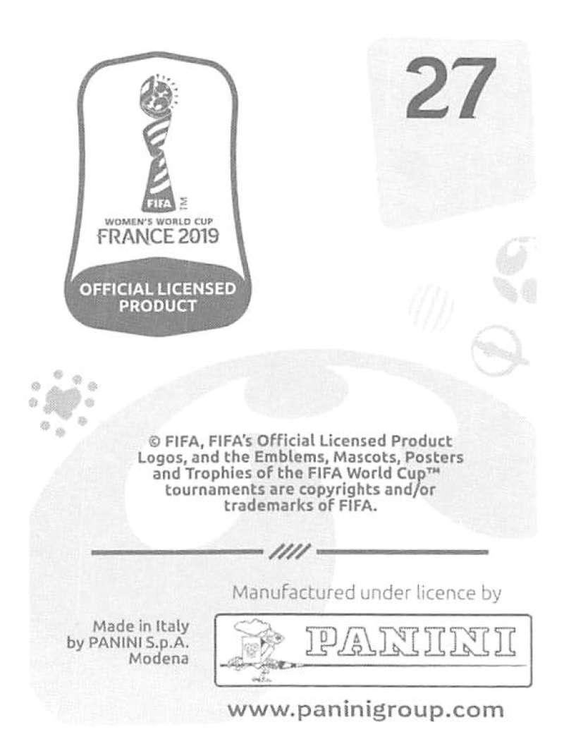 2019 Panini FIFA Women/'s World Cup Stickers choisissez dans la liste avec feuilles 1-240