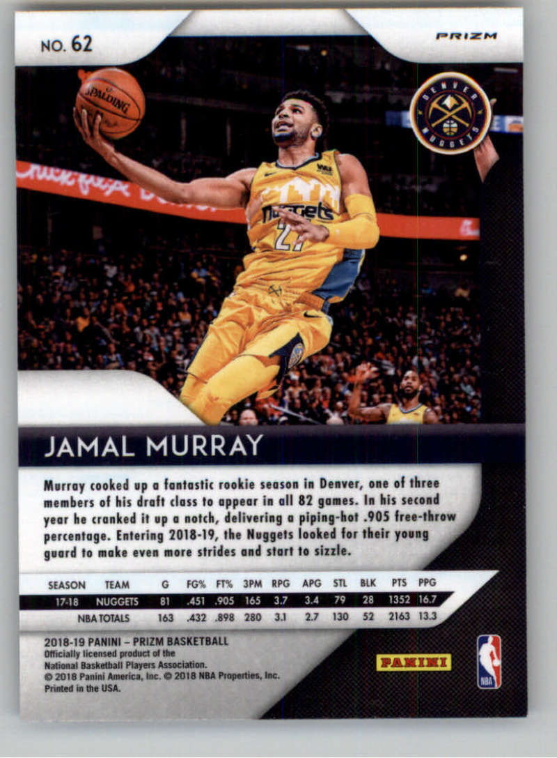 2018-19-Panini-Prizm-Silver-Prizms-Refractor-Parallel-Pick-From-List-1-150 thumbnail 96