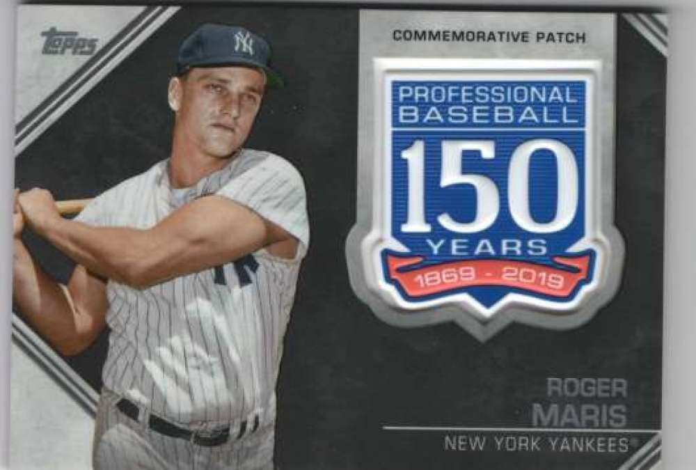 2019-Topps-150th-Anniversary-Patches-All-versions-Included-Pick-From-List thumbnail 35