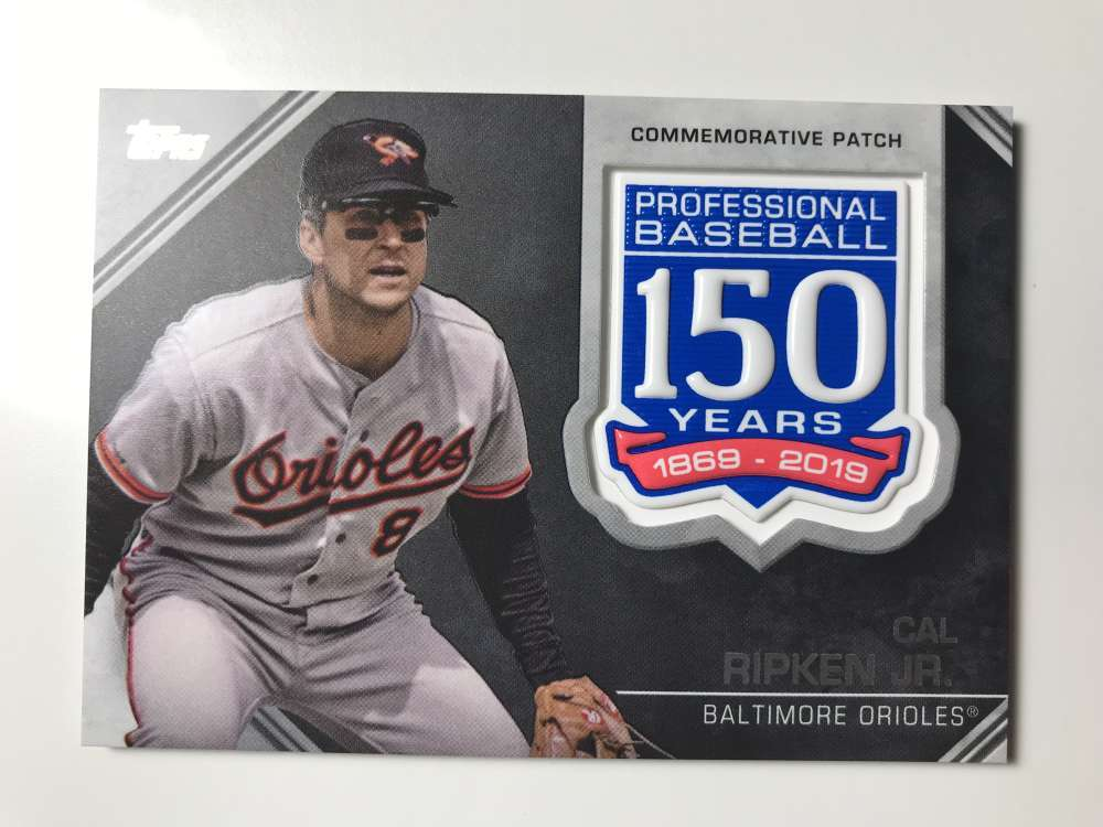 2019-Topps-150th-Anniversary-Patches-All-versions-Included-Pick-From-List thumbnail 10