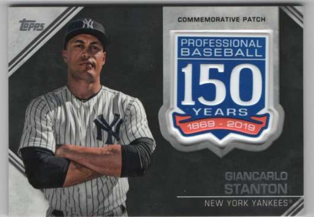 2019-Topps-150th-Anniversary-Patches-All-versions-Included-Pick-From-List thumbnail 15