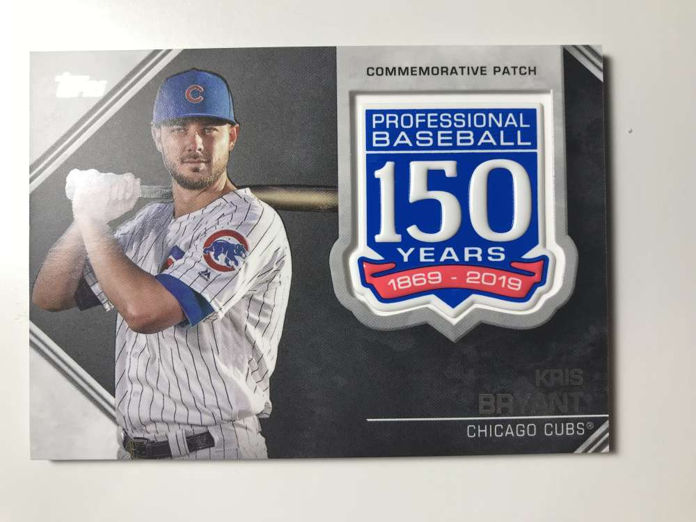 2019-Topps-150th-Anniversary-Patches-All-versions-Included-Pick-From-List thumbnail 24