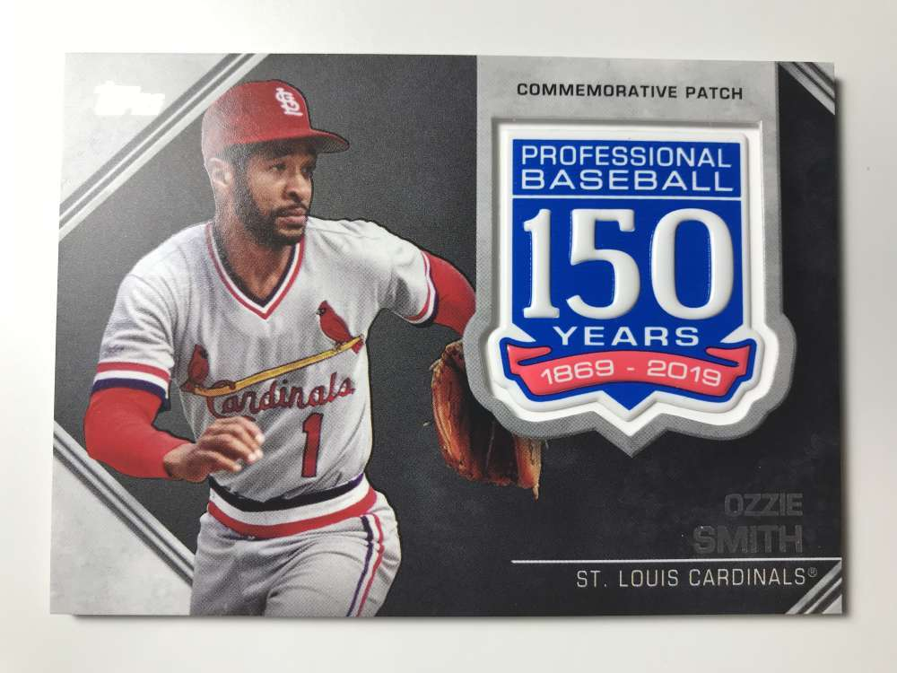 2019-Topps-150th-Anniversary-Patches-All-versions-Included-Pick-From-List thumbnail 29
