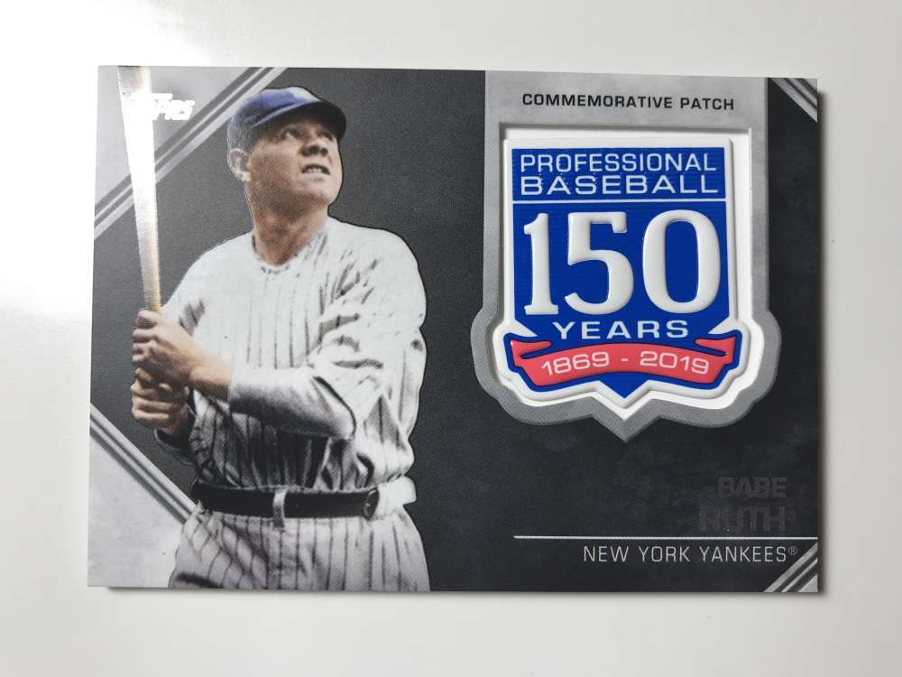 2019-Topps-150th-Anniversary-Patches-All-versions-Included-Pick-From-List thumbnail 6