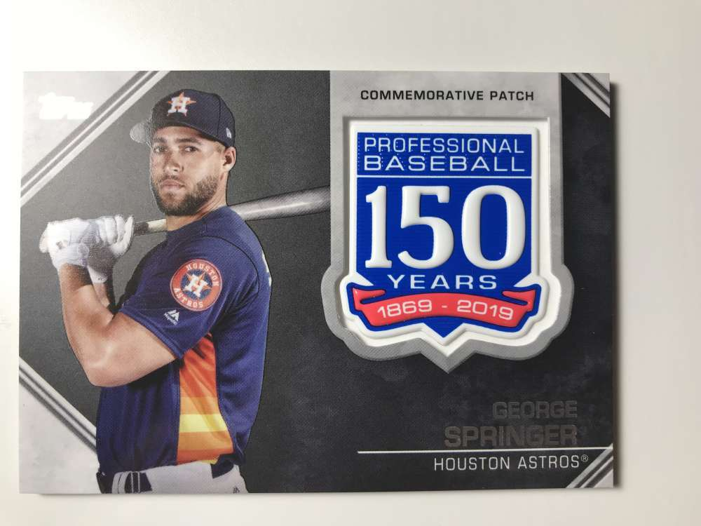 2019-Topps-150th-Anniversary-Patches-All-versions-Included-Pick-From-List thumbnail 17