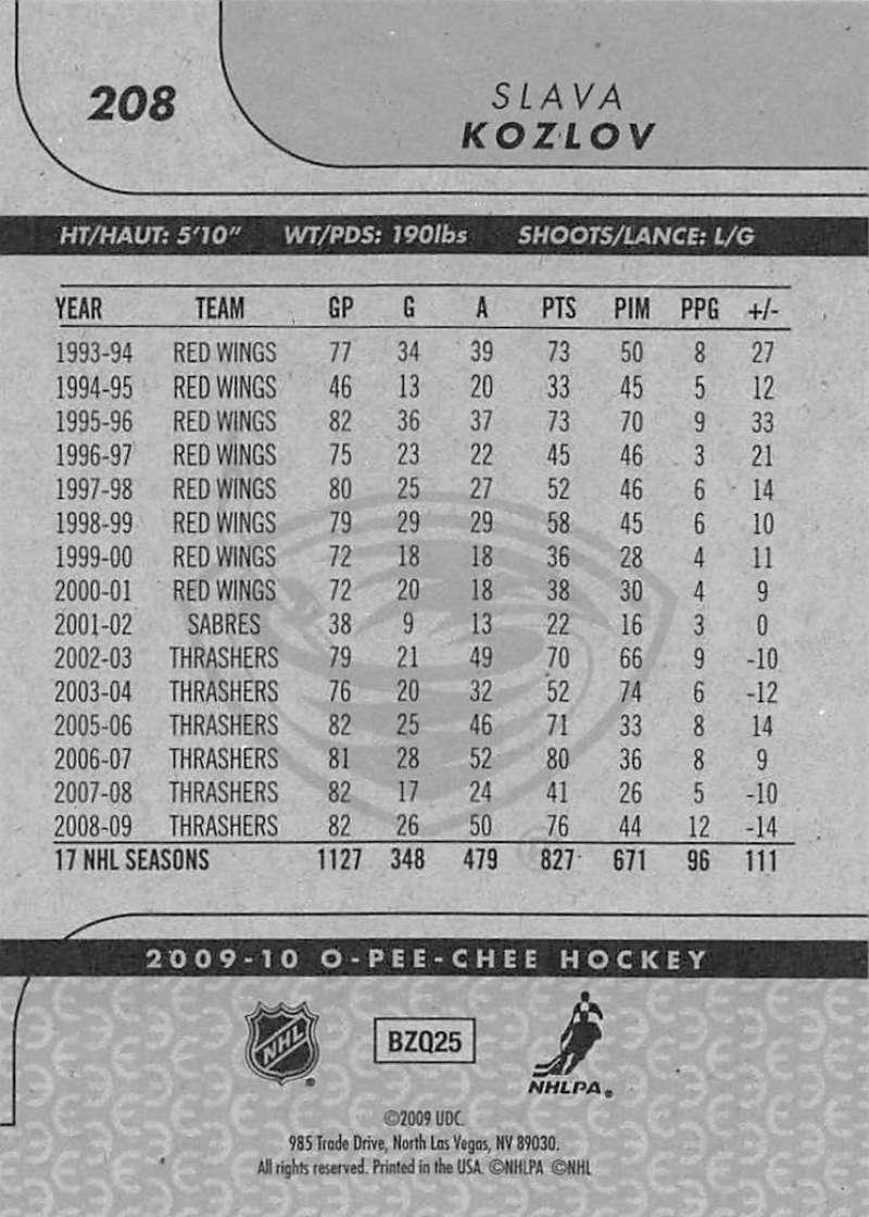 2009-10-O-Pee-Chee-OPC-NHL-Hockey-Trading-Card-Pick-From-List-201-400 miniature 17
