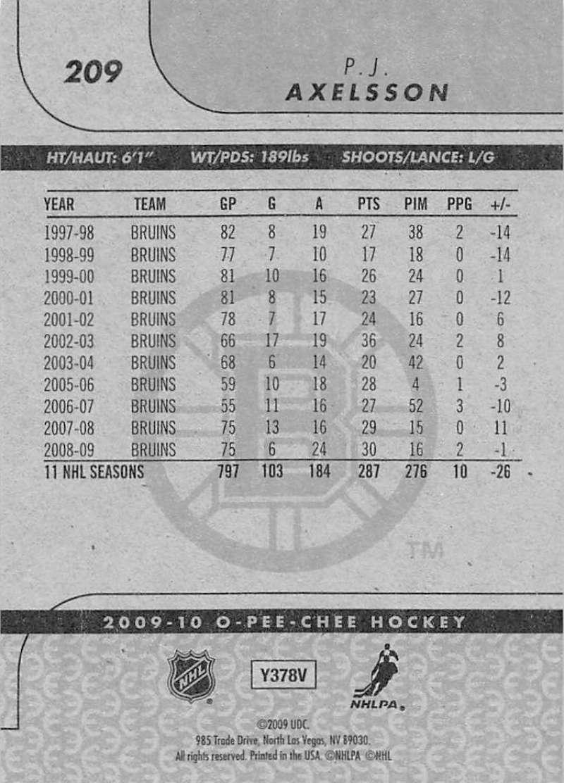 2009-10-O-Pee-Chee-OPC-NHL-Hockey-Trading-Card-Pick-From-List-201-400 miniature 19