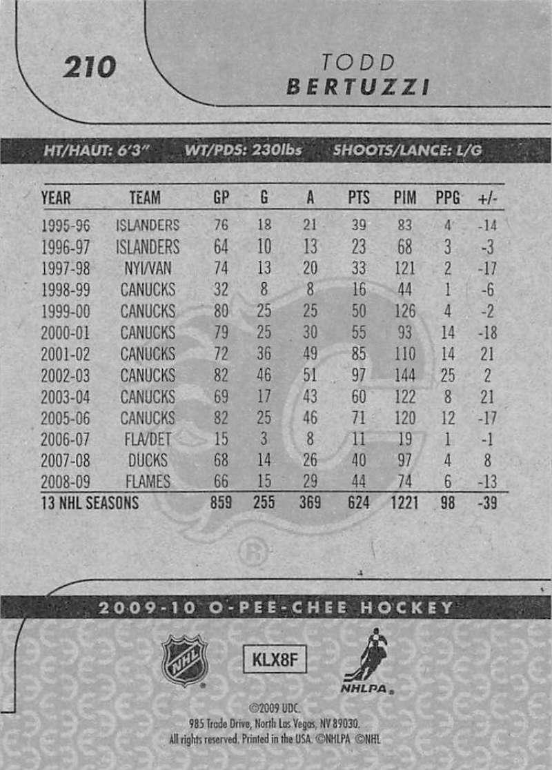 2009-10-O-Pee-Chee-OPC-NHL-Hockey-Trading-Card-Pick-From-List-201-400 miniature 21
