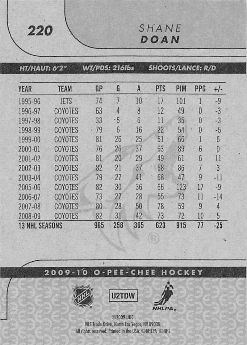 2009-10-O-Pee-Chee-OPC-NHL-Hockey-Trading-Card-Pick-From-List-201-400 miniature 41