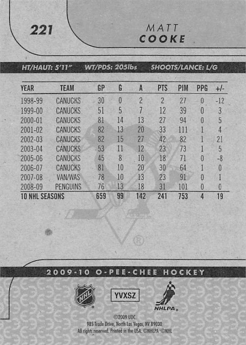 2009-10-O-Pee-Chee-OPC-NHL-Hockey-Trading-Card-Pick-From-List-201-400 miniature 43