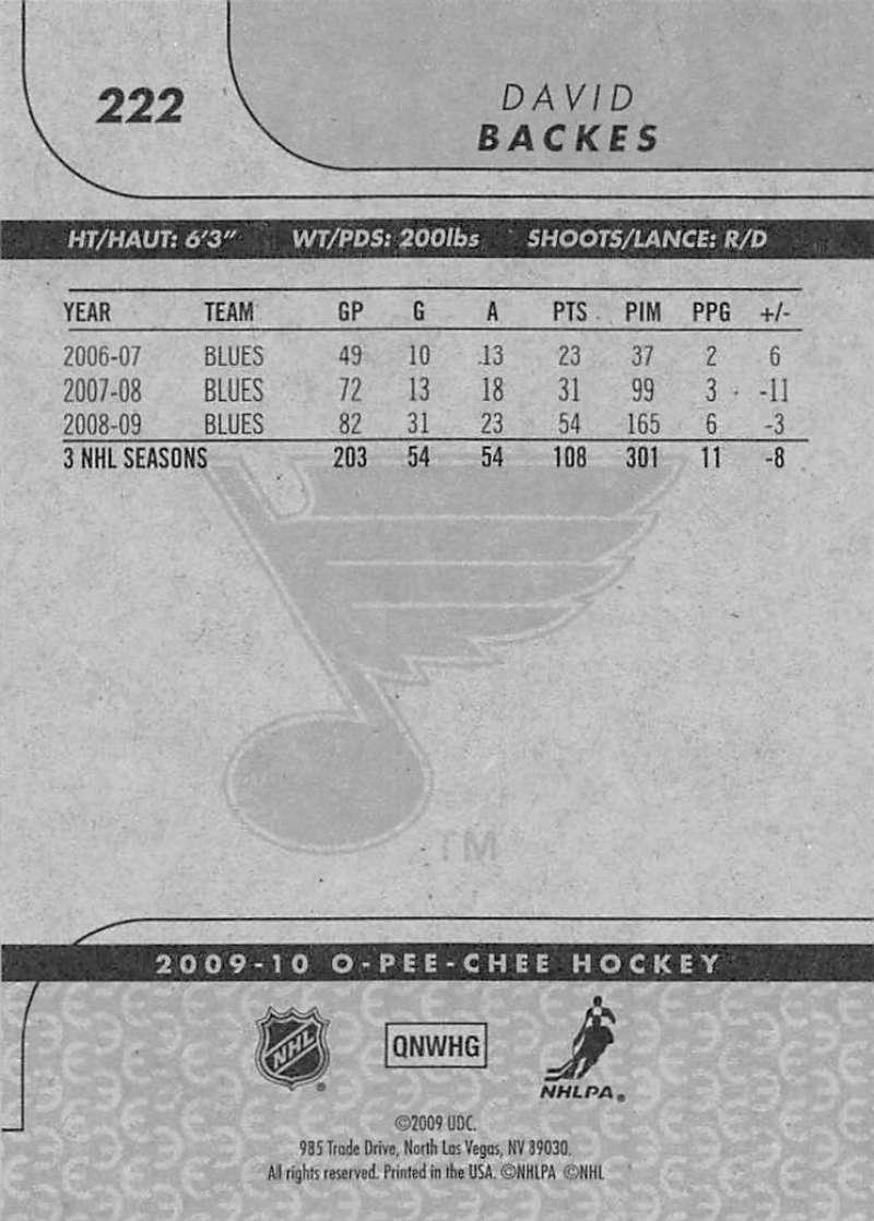 2009-10-O-Pee-Chee-OPC-NHL-Hockey-Trading-Card-Pick-From-List-201-400 miniature 45