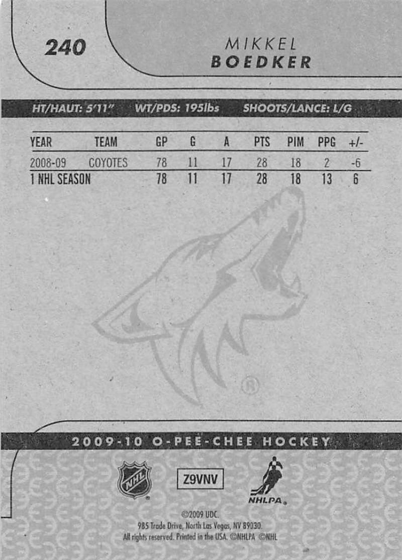 2009-10-O-Pee-Chee-OPC-NHL-Hockey-Trading-Card-Pick-From-List-201-400 miniature 75