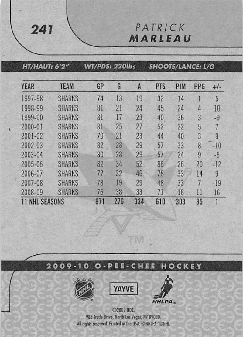 2009-10-O-Pee-Chee-OPC-NHL-Hockey-Trading-Card-Pick-From-List-201-400 miniature 77