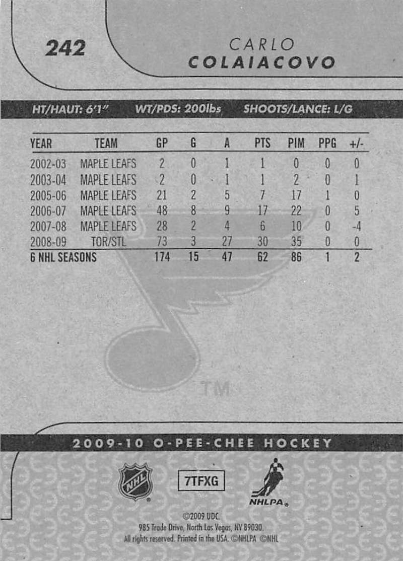 2009-10-O-Pee-Chee-OPC-NHL-Hockey-Trading-Card-Pick-From-List-201-400 miniature 79