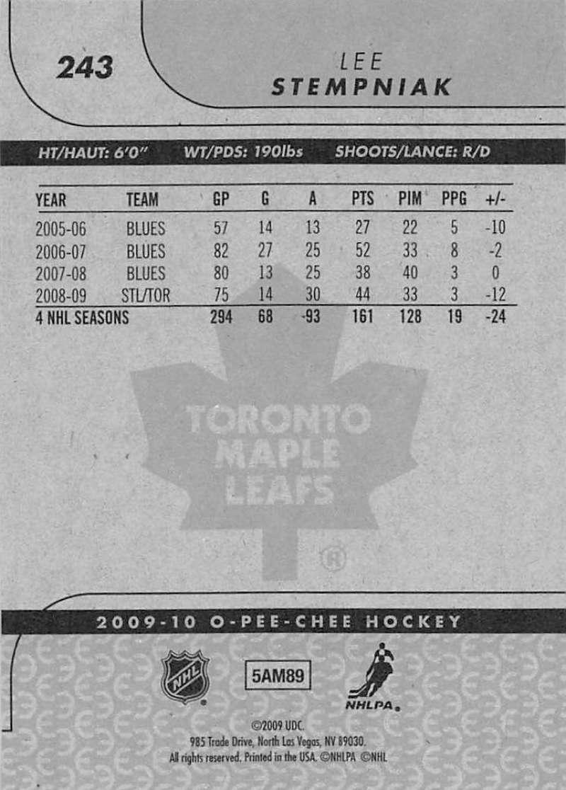 2009-10-O-Pee-Chee-OPC-NHL-Hockey-Trading-Card-Pick-From-List-201-400 miniature 81