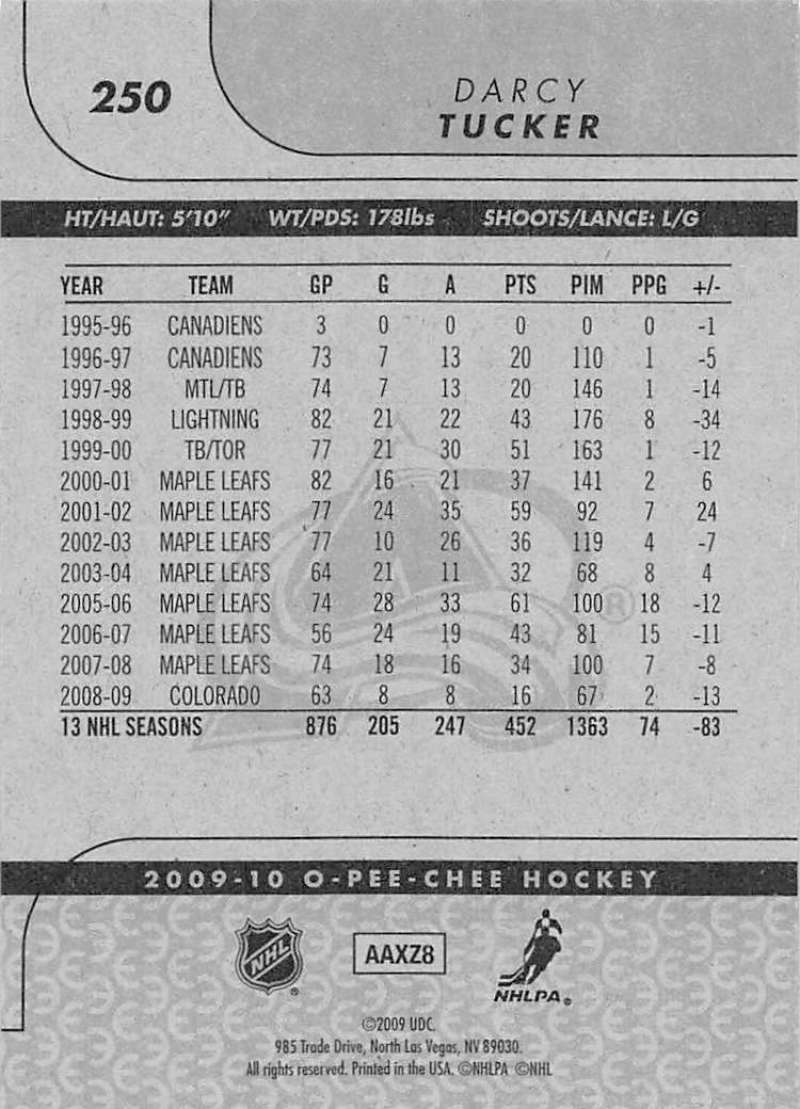 2009-10-O-Pee-Chee-OPC-NHL-Hockey-Trading-Card-Pick-From-List-201-400 miniature 95