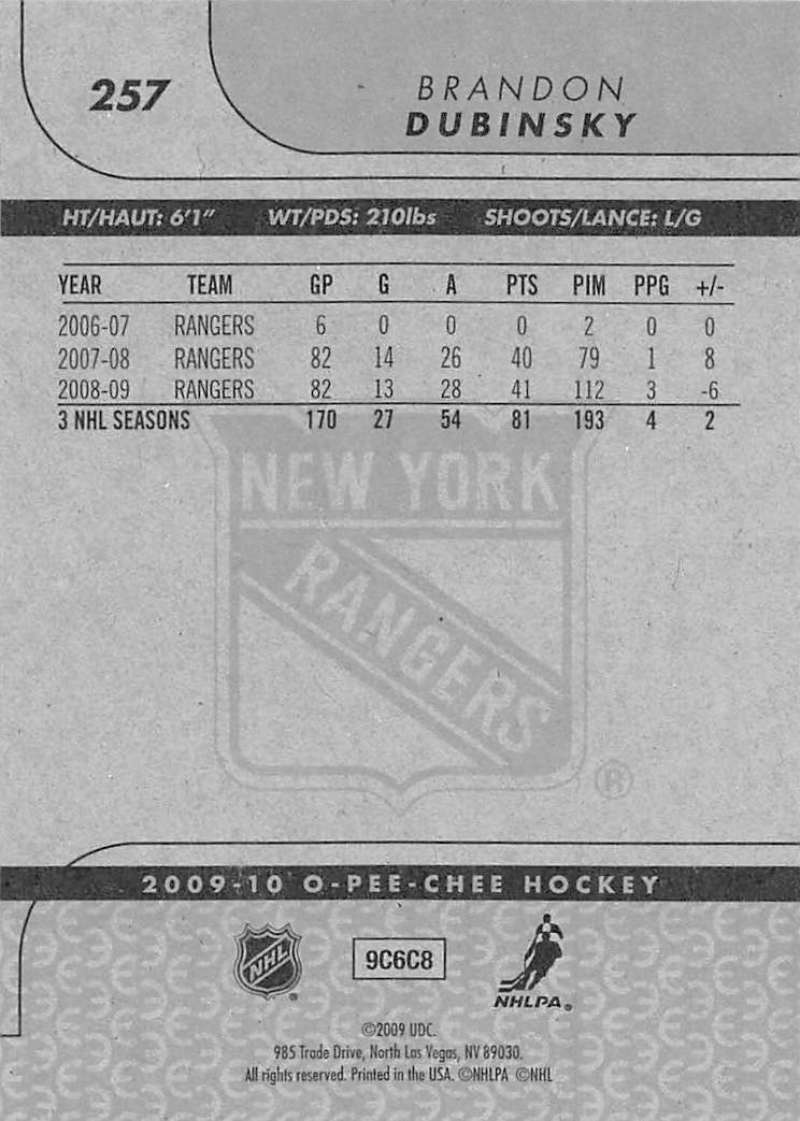2009-10-O-Pee-Chee-OPC-NHL-Hockey-Trading-Card-Pick-From-List-201-400 miniature 109