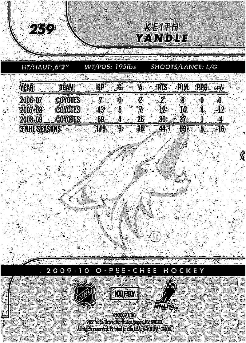 2009-10-O-Pee-Chee-OPC-NHL-Hockey-Trading-Card-Pick-From-List-201-400 miniature 113