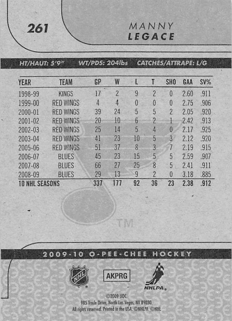 2009-10-O-Pee-Chee-OPC-NHL-Hockey-Trading-Card-Pick-From-List-201-400 miniature 117