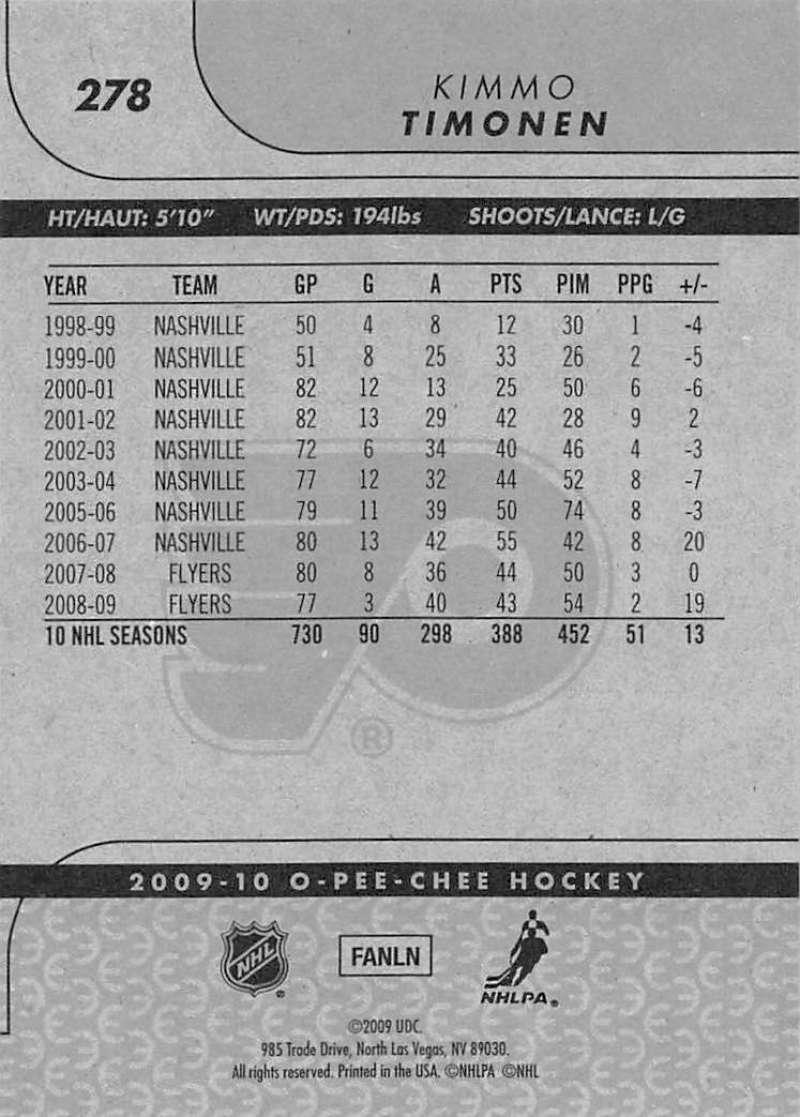 2009-10-O-Pee-Chee-OPC-NHL-Hockey-Trading-Card-Pick-From-List-201-400 miniature 149