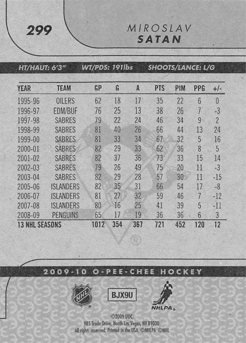 2009-10-O-Pee-Chee-OPC-NHL-Hockey-Trading-Card-Pick-From-List-201-400 miniature 187