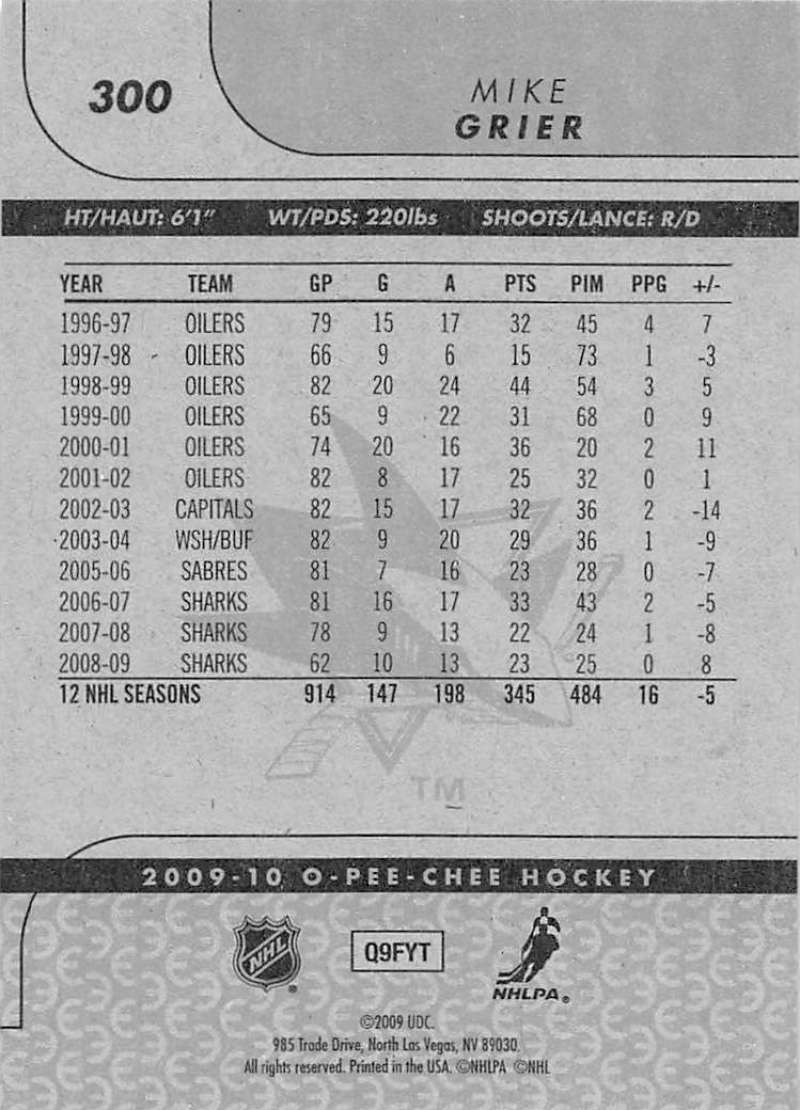 2009-10-O-Pee-Chee-OPC-NHL-Hockey-Trading-Card-Pick-From-List-201-400 miniature 189