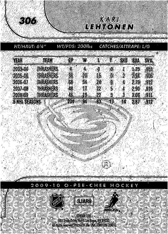 2009-10-O-Pee-Chee-OPC-NHL-Hockey-Trading-Card-Pick-From-List-201-400 miniature 201