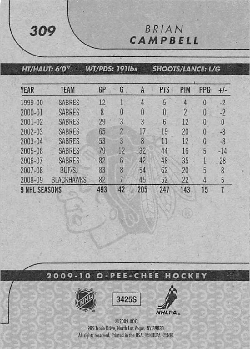 2009-10-O-Pee-Chee-OPC-NHL-Hockey-Trading-Card-Pick-From-List-201-400 miniature 205