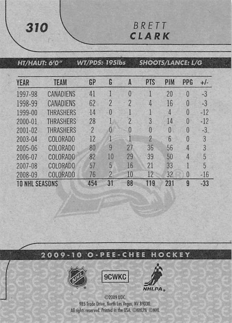 2009-10-O-Pee-Chee-OPC-NHL-Hockey-Trading-Card-Pick-From-List-201-400 miniature 207