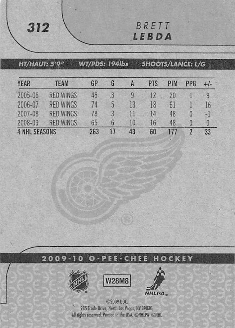 2009-10-O-Pee-Chee-OPC-NHL-Hockey-Trading-Card-Pick-From-List-201-400 miniature 211