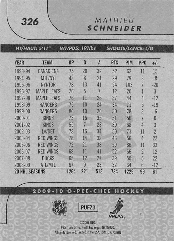 2009-10-O-Pee-Chee-OPC-NHL-Hockey-Trading-Card-Pick-From-List-201-400 miniature 239