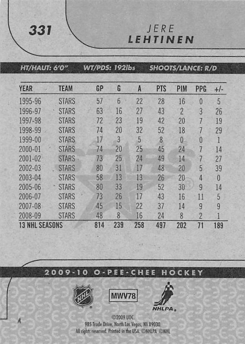 2009-10-O-Pee-Chee-OPC-NHL-Hockey-Trading-Card-Pick-From-List-201-400 miniature 247