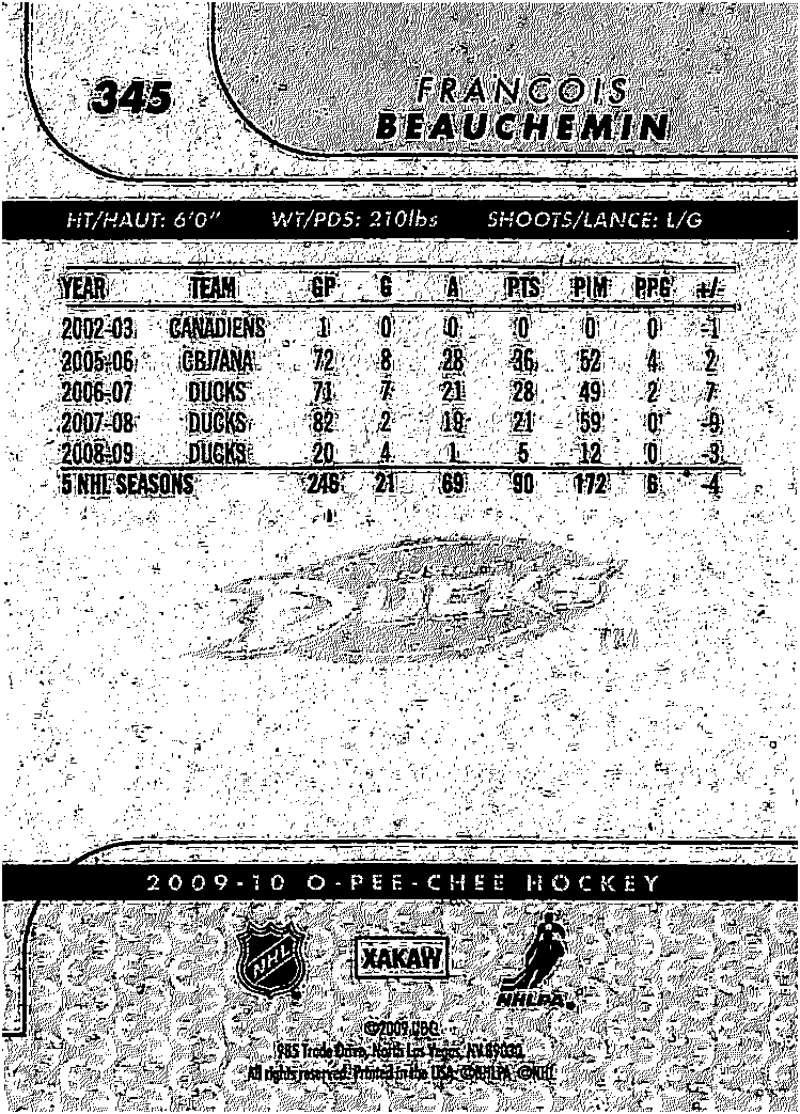 2009-10-O-Pee-Chee-OPC-NHL-Hockey-Trading-Card-Pick-From-List-201-400 miniature 275