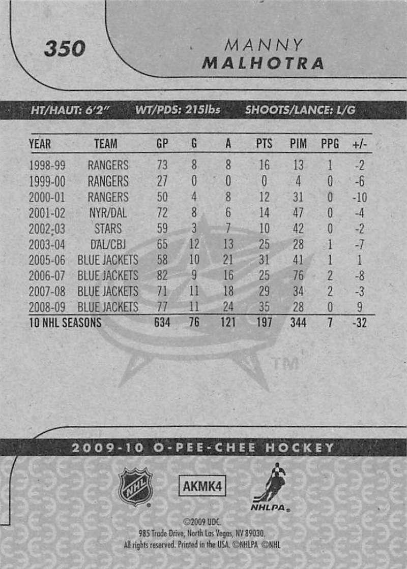 2009-10-O-Pee-Chee-OPC-NHL-Hockey-Trading-Card-Pick-From-List-201-400 miniature 283