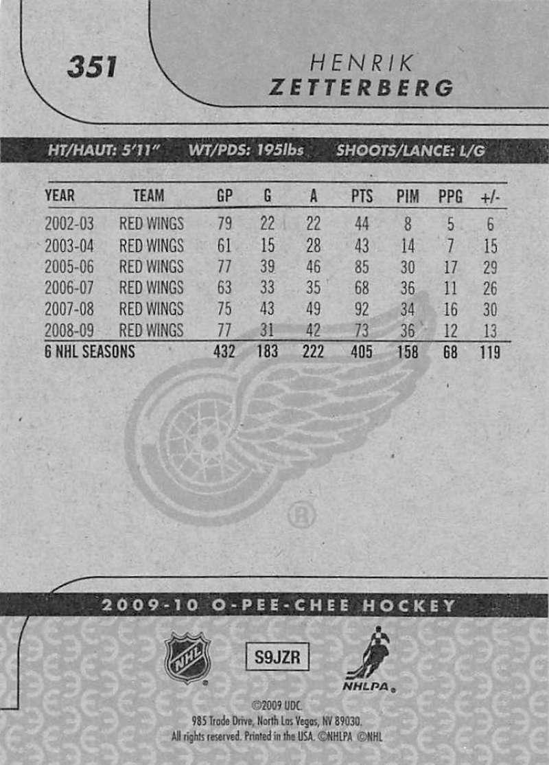 2009-10-O-Pee-Chee-OPC-NHL-Hockey-Trading-Card-Pick-From-List-201-400 miniature 285